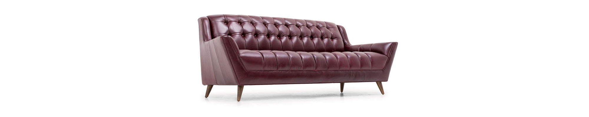 Fitzgerald Leather Sofa Joybird